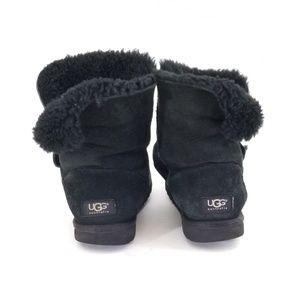 UGG Australia suede boots wool lined sz 8/ EU 39
